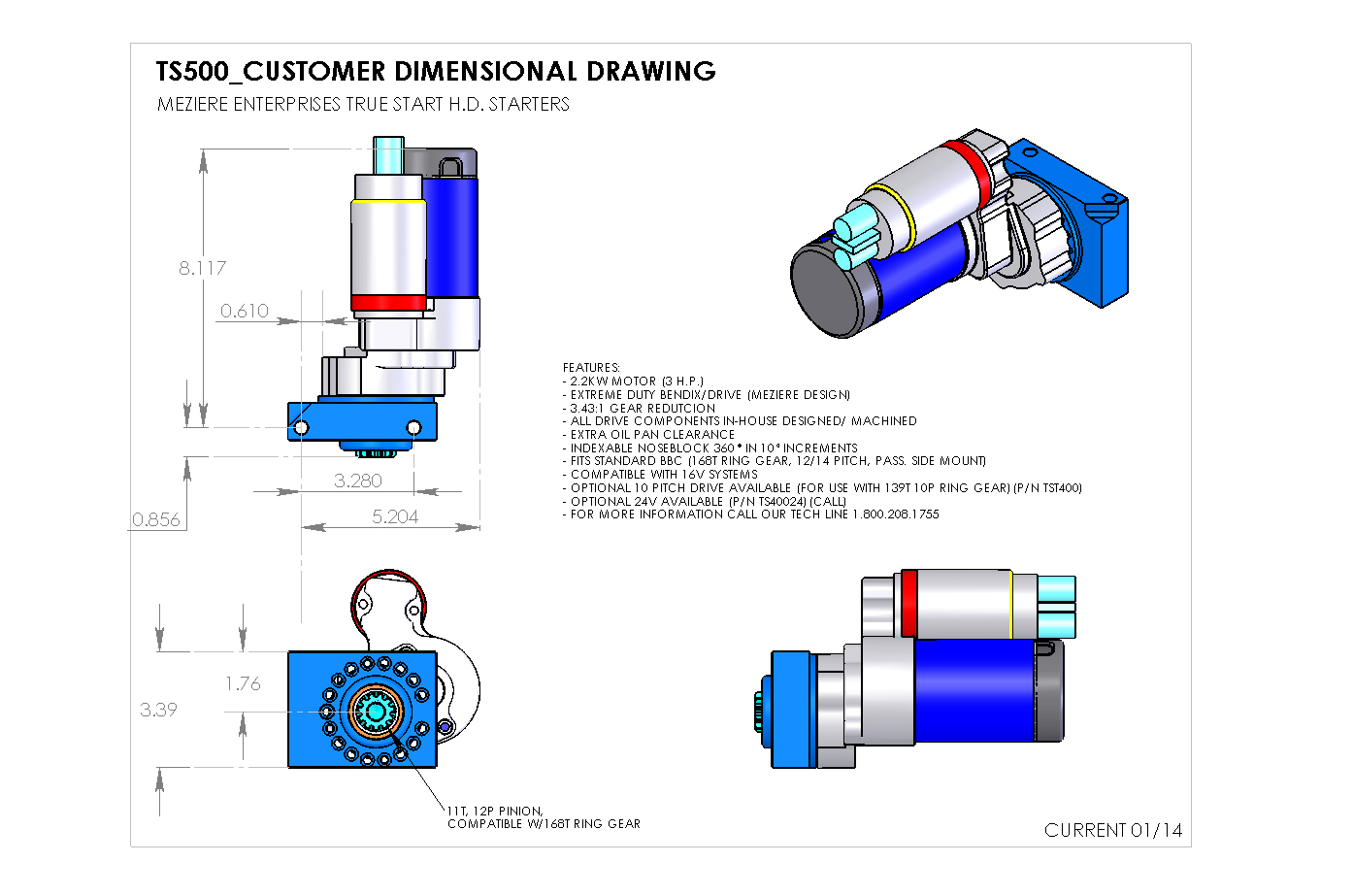 true start for chevrolet 500 series for 168 tooth meziere enterprises rh meziere com Light Switch Wiring Diagram Simple Wiring Diagrams