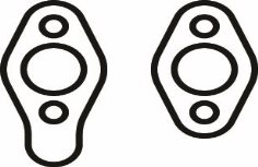 Replacement Gasket, SBC Flange, Pair