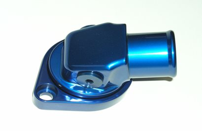 Water Neck, Low Swivel 360 degree, fits Chevy and BB Mopar, #6AN Side Ports