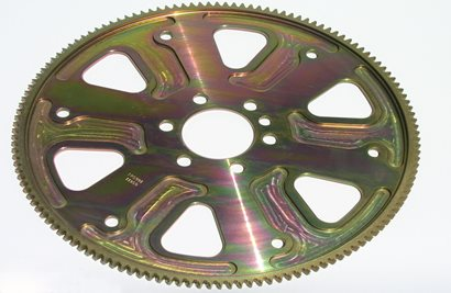 "True Billet Flexplate, Chevrolet, Pro Mod design, 136 tooth, 7/16"" Crank Holes"