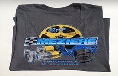 Racing Apparel, Grey T-Shirt, Components Design, Adult Small
