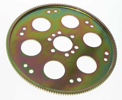 True Billet Flexplate, Chevy 168 tooth, 1/2 crank holes