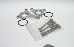 Block Adapter Set, Late model HEMI to #16 female