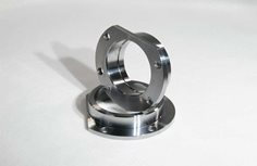 Housing End, fits small Ford bearing and brake flange