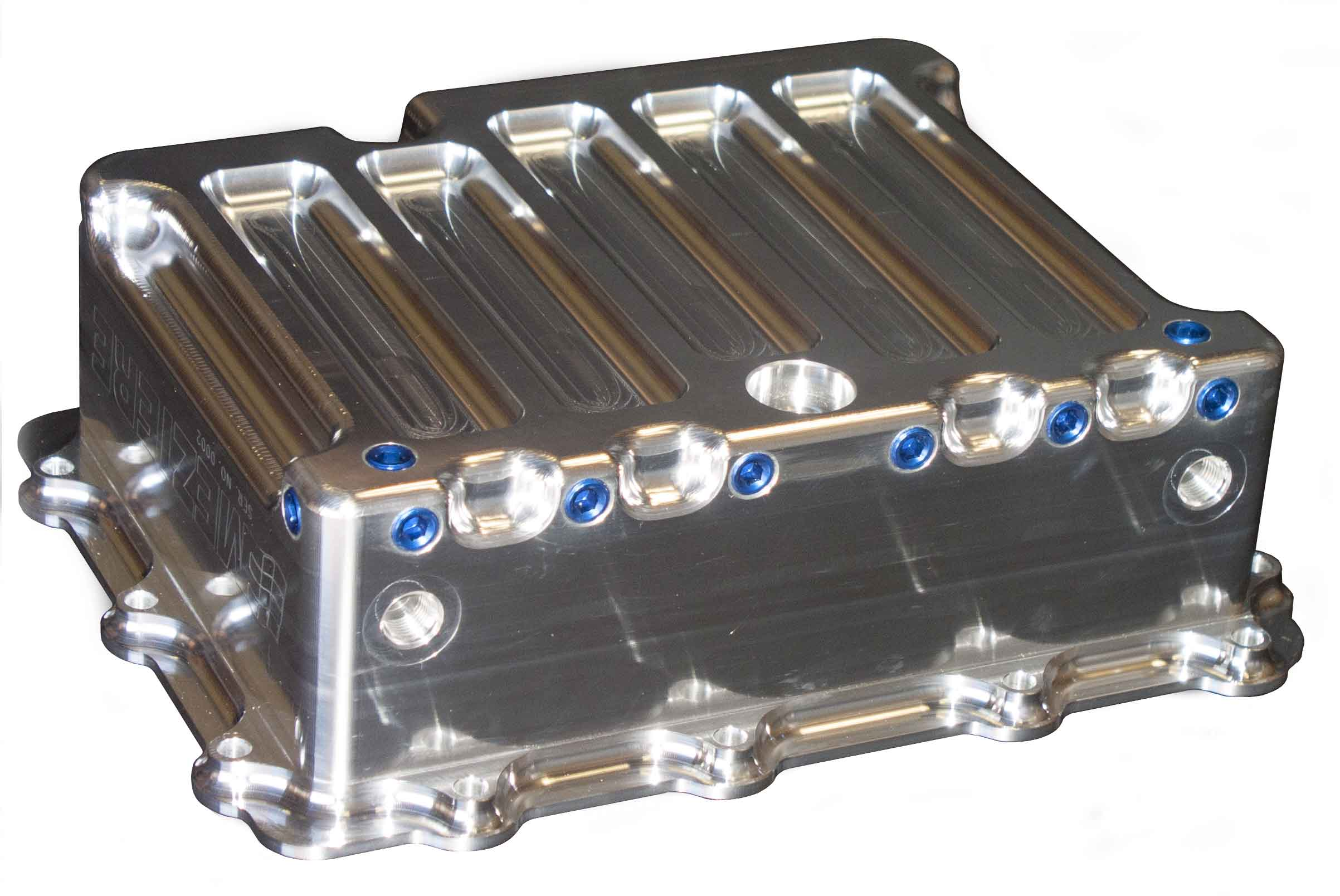 Powerglide Transmission Pan With Heat Exchanger Meziere