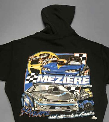 Hooded Sweatshirt, Door Car Design, Adult Large