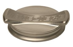 "Cap and Bung Assembly, Pro Bow Tie 2.75"" Style, Aluminum Bung"