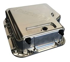 TH400 Transmission Pan W/Heat Exchanger