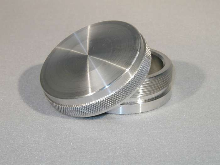 Cap And Bung Assembly Fuel Filler Style Aluminum Bung