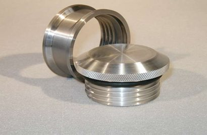 "Cap and Bung Assembly, Pro 2.75"" Style, Steel Bung"